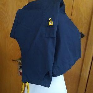 Scrub pants Wonderwink - Small Tall Navy Blue